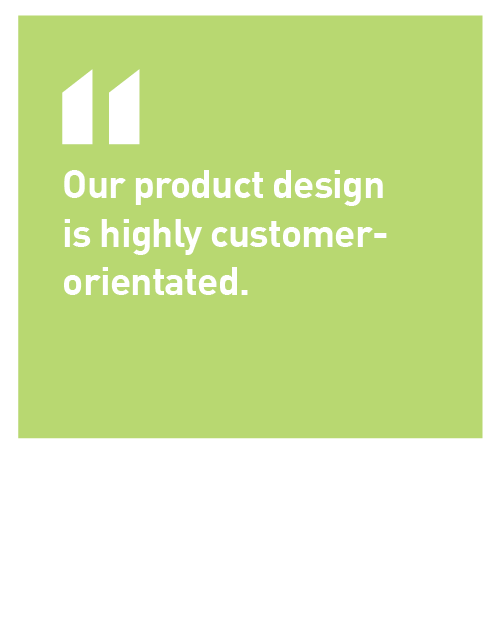 Norrhydro product design is highly customer-orientated