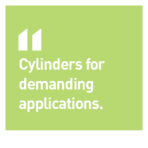 Norrhydro cylinders for demanding applications