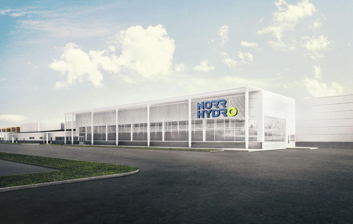Norrhydron uusi tuotantolaitos tarjoaa parhaat puitteet laadukkaiden hydraulisylintereiden valmistukseen