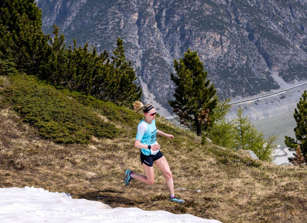 Norrhydro sponsorship with mountain runner Susanna Saapunki